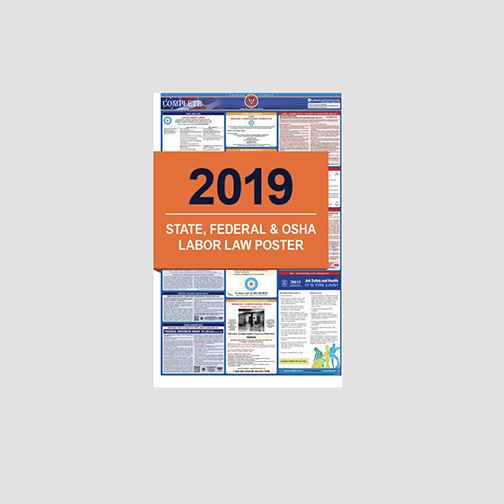 2019 Labor Law Poster