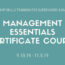 Management Essentials Certificate Course 9.10.19