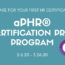 aPHR® Certification Prep Program 2.6.20 to 3.26.20